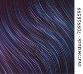 spherical abstract blue... | Shutterstock .eps vector #709928599