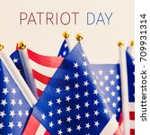 closeup of some flags of the... | Shutterstock . vector #709931314