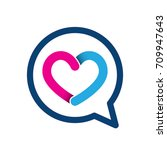 heart icon  vector illustration | Shutterstock .eps vector #709947643