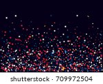 abstract background with flying ... | Shutterstock .eps vector #709972504