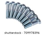 bolts and nuts | Shutterstock . vector #709978396