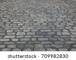 Cobbled Street In Manchester