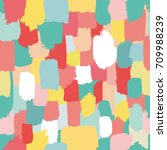 seamless vector pattern with... | Shutterstock .eps vector #709988239