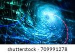 storm map   3d rendering | Shutterstock . vector #709991278