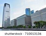 jersey city   aug 23  goldman... | Shutterstock . vector #710013136
