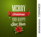 christmas background. vector...   Shutterstock .eps vector #710046820