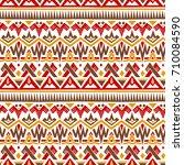 motley freehand vector... | Shutterstock .eps vector #710084590