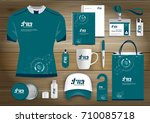 network sport gift items  color ... | Shutterstock .eps vector #710085718