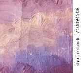 paint oil color texture... | Shutterstock .eps vector #710094508