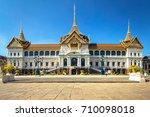 chakkri maha prasat throne hall ... | Shutterstock . vector #710098018