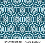 vector pattern. endless texture ... | Shutterstock .eps vector #710116030