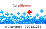 do different abstract... | Shutterstock .eps vector #710121253