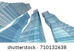 architecture abstract  3d... | Shutterstock . vector #710132638