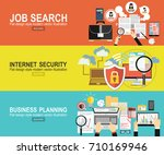 analytics information and... | Shutterstock .eps vector #710169946