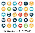 banking icons | Shutterstock .eps vector #710175019