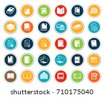 book icons | Shutterstock .eps vector #710175040