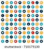 art icons | Shutterstock .eps vector #710175130