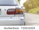 the tail light hit | Shutterstock . vector #710213224