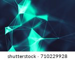 abstract digital background... | Shutterstock . vector #710229928
