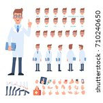 doctor character for your... | Shutterstock .eps vector #710240650