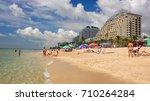fort lauderdale  florida   june ... | Shutterstock . vector #710264284