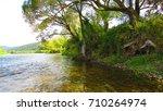 river landscape  | Shutterstock . vector #710264974