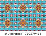 flowers on colorful background. ... | Shutterstock . vector #710279416