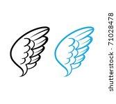 vector illustration of bird... | Shutterstock .eps vector #71028478