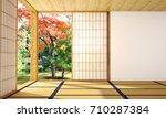interior design modern living... | Shutterstock . vector #710287384