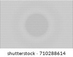 halftone pattern with black dot ... | Shutterstock .eps vector #710288614