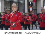 Royal Mounted Police On Foot A...