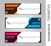 vector abstract design banner... | Shutterstock .eps vector #710330713