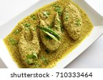 indian traditional fish curry... | Shutterstock . vector #710333464