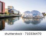 rotterdam  netherlands   august ... | Shutterstock . vector #710336470