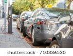rotterdam  netherlands   august ... | Shutterstock . vector #710336530
