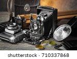 old camera   Shutterstock . vector #710337868