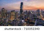 mahanakorn building. new... | Shutterstock . vector #710352340