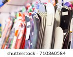 image of large selection of... | Shutterstock . vector #710360584