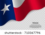 Waving Flag Of Texas Is A Stat...