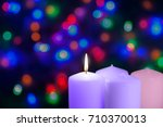 Christmas Candles And Lights....