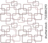 modern stylish design. seamless ... | Shutterstock .eps vector #710384293