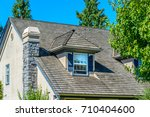 a perfect neighborhood. houses... | Shutterstock . vector #710404600