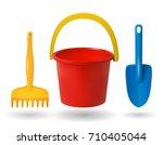 Toys For  Sandbox. Baby Bucket...