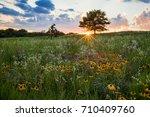 A Prairie Spectacular Sunset...