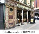 belfast  ireland   august 5 ...   Shutterstock . vector #710424190