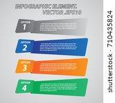 infographic element vector for...   Shutterstock .eps vector #710435824