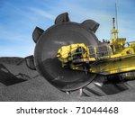 stacker  reclaimer at coal... | Shutterstock . vector #71044468