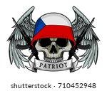 Military Skull Or Patriot Skul...
