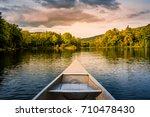 Aluminum Canoe On A Mountain...