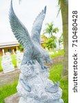 Black Eagle Sculpture In Vietnam